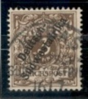 AFRIQUE DU SUD OUEST ALLEMAND.DSWA.1897.MICHEL N°5b.OBLITERE.18O25 - Kolonie: Deutsch-Südwestafrika