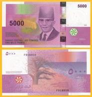 Comoros 5000 Francs P-18b 2006 UNC - Comores