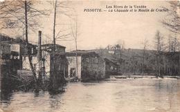 ¤¤   -    PISSOTTE   -  La Chaussée Et Le Moulin De Crochet     -   ¤¤ - France