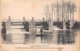 ¤¤   -    SAINT-MEDARD-des-PRES    -  Le Barrage De La Réserve à Boisse   -   ¤¤ - France