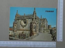 PORTUGAL - CONVENTO DE CRISTO -  TOMAR -   2 SCANS  - (Nº25597) - Santarem