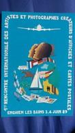 CPM ILLUSTRATEUR BLEM V H BLEMUS  UNIVERS RENCONTRE V 95 ENGHIEN 1989 1 ERE RENCONTRE ARTISTES N° 440/ 3000 - Altre Illustrazioni