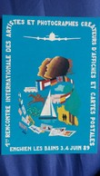 CPM ILLUSTRATEUR BLEM V H BLEMUS  UNIVERS RENCONTRE V 95 ENGHIEN 1989 1 ERE RENCONTRE ARTISTES N° 440/ 3000 - Illustratoren & Fotografen