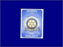 Qualité: XX - 245, Triple Surcharge: 5t. Rotary. - Bangladesh