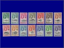 Qualité: XX - 28/41, Complet, 14 Valeurs: Animaux, Baleine. Cote: 140 - Tristan Da Cunha