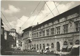 W62 Perugia - Piazza Matteotti E Palazzo Di Giustizia - Auto Cars Voitures Bus Autobus / Non Viaggiata - Perugia