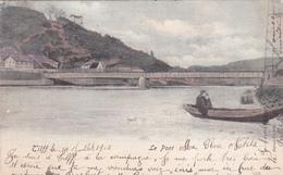 """TILFF  Acp  """"Le Pont En Couleurs 1902""""  """" écrite  Voir Scan - Esneux"""