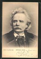 AK Edward Grieg Im Portrait - Artiesten