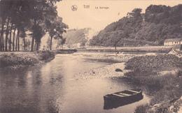 """TILFF  Acp  """"Le Barrage  1923""""  """" écrite  Voir Scan - Esneux"""