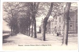 NAMUR Avenue Du Prince Albert Et Hôpital Civil - Namur