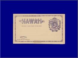 Qualité: N - Scott Uy1, Cp 1c + 1c. Violet (se Tenant): Lilluokalani. Cote: +250 - Hawaii