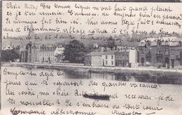 """TILFF  Acp  """"L'Ourthe En 1904""""  """" écrite  Voir Scan - Esneux"""
