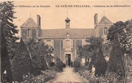 ¤¤   -    LE GUE-de-VELLUIRE    -  Chateau De La Sébrandière    -   ¤¤ - France