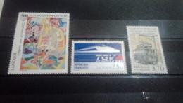 FRANCE - Année 1989 -  N°2606 A 2608   Neuf ** - Nuovi