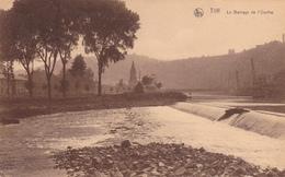 """TILFF  Acp  """"Barrage De L'Ourthe En 1930""""  """" écrite  Voir Scan - Esneux"""