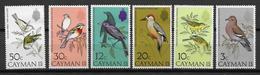 CAYMAN - YVERT N° 324/329 ** MNH - COTE = 40 EUR. - FAUNE ET FLORE - OISEAUX - Iles Caïmans
