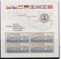 TCHECOSLOVAQUIE : BF 58  Bateaux  Neuf XX - Tchécoslovaquie