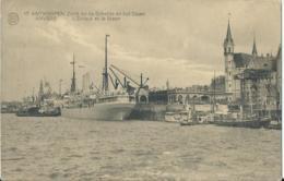 Antwerpen - Anvers - Albert 17 - Zicht Op De Schelde En Het Steen - L'Escaut Et Le Steen - Phototypie - 1924 - Antwerpen