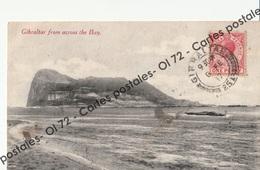 CPA -  Gibraltar - From Across The Bay - Gibraltar