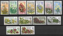 FALKLAND - YVERT N° 191/203 ** MNH - COTE = 60 EUR. - FAUNE ET FLORE - - Falkland