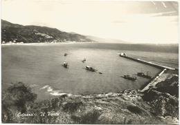 W72 Cetraro (Cosenza) - Il Porto - Panorama - Barche Boats Bateaux / Viaggiata 1963 - Other Cities