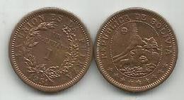 Bolivia  1 Boliviano 1951. - Bolivia