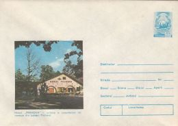 TOURISM, PRAHOVA INN, COVER STATIONERY, ENTIER POSTAL, 1979, ROMANIA - Holidays & Tourism