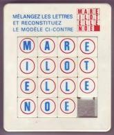 Taquin - Pousse Pousse - Mots Croisés - Brain Teasers, Brain Games