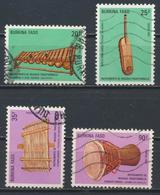 °°° BURKINA FASO - Y&T N°757/60 - 1987 °°° - Burkina Faso (1984-...)