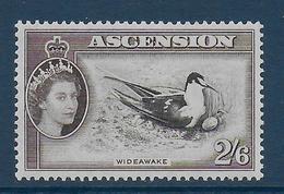 ASCENSION - YVERT N°73 ** MNH - COTE = 41 EUR. - OISEAUX - Ascension (Ile De L')