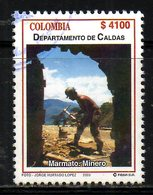 COLOMBIE. N°1208 De 2003 Oblitéré. Mineur. - Usines & Industries
