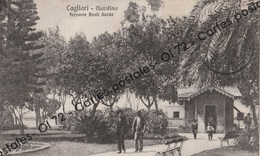 CPA -  Italie > Sardegna > Cagliari - Giardino - Ferrovie Reali Sarde - Chemins De Fer Royaux De Sardaigne - Cagliari