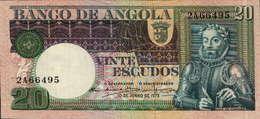 20 ESCUDOS DE 10 DE JUNHO DE 1973-LUIS DE CAMÕES-Nº.2A 66495 - Angola