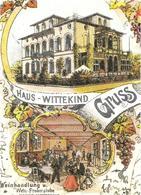Ansichtskarte  Haus Wittekind - Hotels & Gaststätten