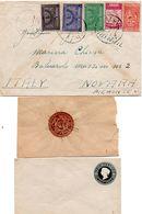 LETTERE : Foto B  -  3 Lettere Arabia Saudita E Stati Indiani - Collezioni (senza Album)