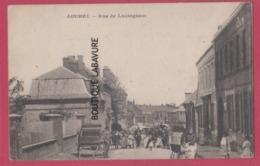 62 - AUCHEL--La  Rue De Lozinghem---tres Anime - France
