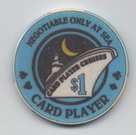 Jeton De Casino : Card Player Cruises $1 - Casino