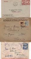 LETTERE : Foto E  -  3 Lettere Australia , Iran , Tonga - Collezioni (senza Album)
