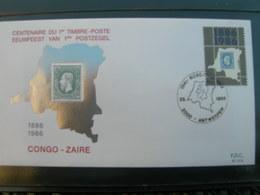 BELG.1986  2199  FDC ( Antwerpen):Eerste Postzegel Onafhankelijke Staat Congo / Premier Timbre Etat Indépendant Du Congo - FDC