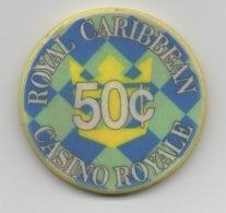 Jeton De Casino Royale : Royal Caribbean Cruises : Vision Of The Sea  50¢ - Casino