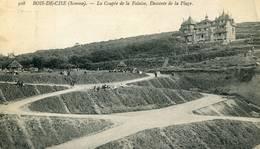 BOIS DE  CISE La Coupée De La Falaise 1918 - Bois-de-Cise