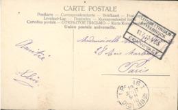 Luxembourg. Cachet Convoyage Recto Verso Kleinbettingen-Ettelbruck 1910 Sur Carte Vallée De La Petrusse ... (4488) - Poststempel - Freistempel