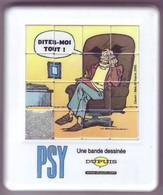 Taquin - Pousse Pousse - Les PSY - BD De Dupuis Créée En 1992 -Dessin BEDU - Brain Teasers, Brain Games