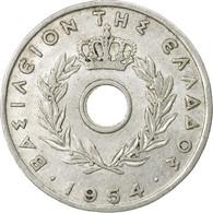 Monnaie, Grèce, 20 Lepta, 1954, TB+, Aluminium, KM:79 - Greece