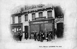 75. CPA. PARIS. Joaillier. Maison Lefebvre Fils Ainé. Précurseur. 102.108 Rue De Rivoli. - Autres
