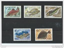 RUSSIE 1983 - YT N° 5017/5021 NEUF SANS CHARNIERE ** (MNH) GOMME D'ORIGINE LUXE - 1923-1991 URSS