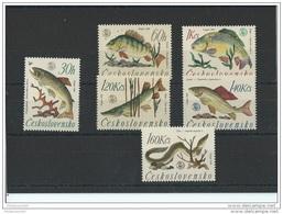 TCHECOSLOVAQUIE 1966 - YT N° 1475/1480 NEUF SANS CHARNIERE ** (MNH) GOMME D'ORIGINE LUXE - Tchécoslovaquie