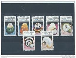 KAMPUCHEA 1988 - YT N° 823/829 NEUF SANS CHARNIERE ** (MNH) GOMME D'ORIGINE LUXE - Kampuchea