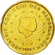 Pays-Bas, 20 Euro Cent, 2002, SPL, Laiton, KM:238 - Pays-Bas