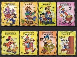 DOMINIQUE  Timbres Neufs ** De 1979  ( Ref 5655 )  DISNEY  Voir Descriptif - Dominique (1978-...)